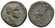 Ancient Coins - Judaea, Caesarea Maritima. Trajan AD 98-117, AE 24mm (13.77 g) / RPC cited