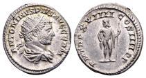 Ancient Coins - Caracalla AD 198-217, AR Antoninianus (21mm, 4.82 gram) Rome AD 216