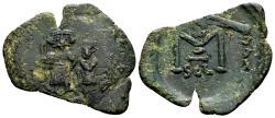 Ancient Coins - Ex Spahr col. - Constans II AD 641-668, AE Follis (28mm, 3.38 gram) Syracuse