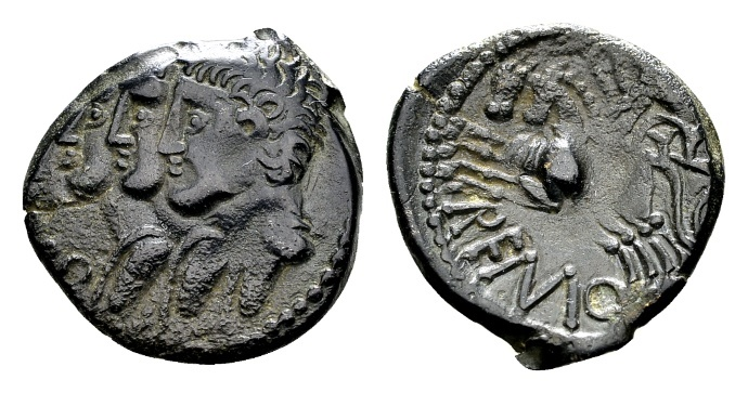 Ancient Coins - Gallia Belgica, Remi. AE 15mm (1.99 g) circa 1st century BC