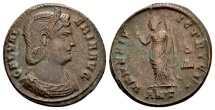 Galeria Valeria, wife of Galerius, died AD 315, AE Follis (24mm, 6.36g) Antioch AD 309
