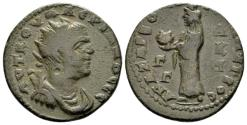 Ancient Coins - Cilicia, Anazarbus. Valerian I AD 253-260, AE 23mm (10.24g) struck CY 272=AD 253-54