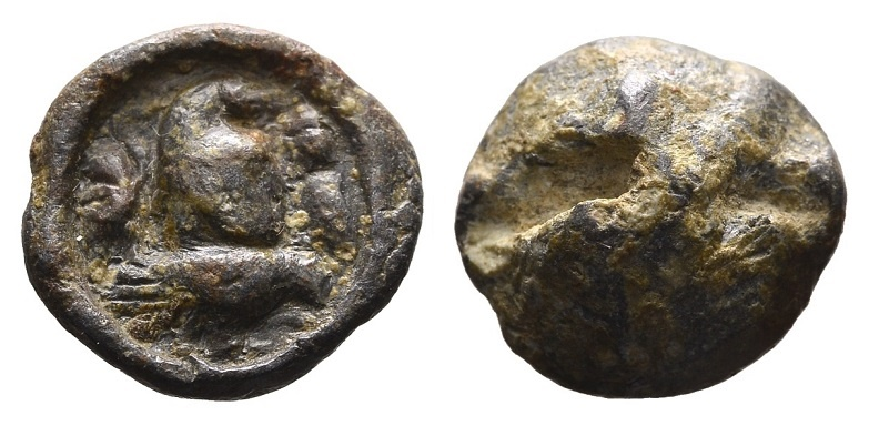 Ancient Coins - Roman lead seal 3rd-4th century