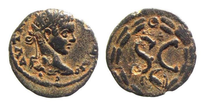Ancient Coins - Syria, Antioch. Elagabalus AD 218-222, AE 19mm (3.59g)