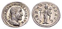 Ancient Coins - Maximinus I AD 235-238, AR Denarius (20mm, 3.12 g) Rome