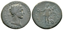 Ancient Coins - RPC Plate Coin - Galilaea, Gaba. Trajan AD 98-117, AE 25mm (10.70 g) dated year 171, AD 111/12