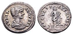 Ancient Coins - Julia Domna, wife of Septimius Severus 193-211 AD, AR Denarius (20mm, 3.35 gram) Laodicea ad Mare