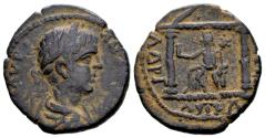 Ancient Coins - Arabia, Petra. Caracalla AD 198-217, AE 22 mm (7.21 gram)