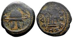 Ancient Coins - Judaea, Herodian Dynasty. Herod I the Great 40-4 BC, AE 8 Prutot (22mm, 6.02 gram)
