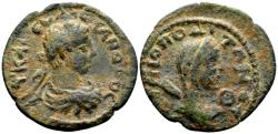 Ancient Coins - Cilicia, Irenopolis. Severus Alexander AD 222-235, AE 24mm (6.83 g) dated year 174, AD 224/25