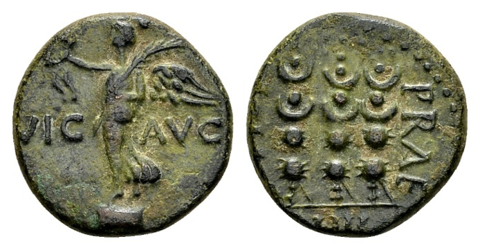 Ancient Coins - Macedonia, Philippi. Roman imperial times, beginning 1st century AD, AE 18mm (3.66 g)