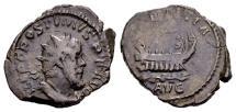 Ancient Coins - Postumus AD 260-269, AR Antoninianus (22mm, 3.79 gram) Cologne