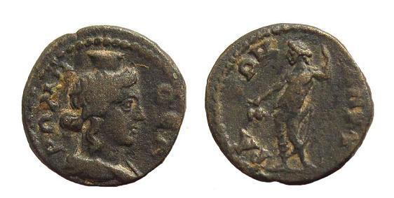 Ancient Coins - Phrygia, Ancyra. Roman Imperial times c. 2nd-3rd century AD, AE 17mm / Thea Rome