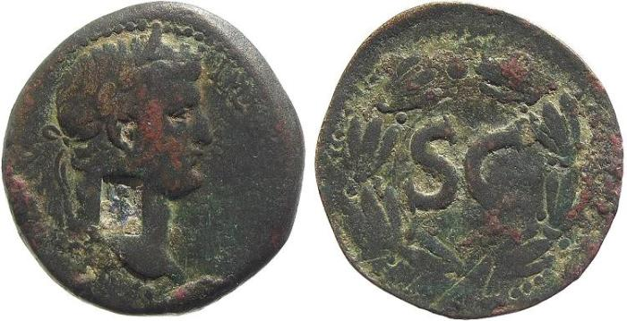 Ancient Coins - Syria, Antioch. Otho AD 69, AE 30mm (13.21g)