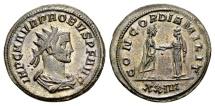 Ancient Coins - Probus AD 276-282, AE Antoninianus (22mm, 4.19 gram) Siscia