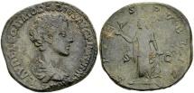 Commodus Caesar AD 175-177, AE Sestertius (24.90 g) Rome / Ex Lückger