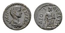 Ancient Coins - Lydia, Dioshieron. Geta Caesar AD 198-209, AE 16mm (2.15 gram)