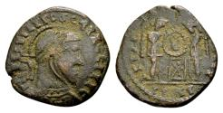Ancient Coins - Constantine the Great AD 307-337, AE imitative Follis (18mm, 3.23 gram)