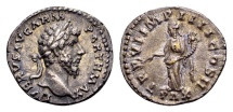 Lucius Verus AD 161-169, AR Denarius Rome / Ex Lückger