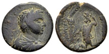 Ancient Coins - Arabia, Bostra. Elagabalus AD 218-222, AE 21mm (6.15 g)