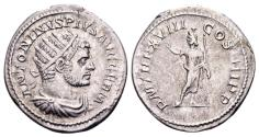 Ancient Coins - Caracalla 198-217, AR Antoninianus (23mm, 5.01 gram) Rome AD 215
