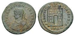 Ancient Coins - Constantius II Caesar AD 324-337, AE Follis (19mm, 2.34 gram) Trier