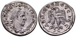 Ancient Coins - Syria, Antioch. Trajan Decius AD 249-251, AR Tetradrachm (27mm, 12.80 gram) struck