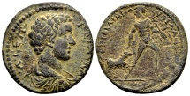 Ancient Coins - Lydia, Philadelphia. Geta Caesar AD 198-209, AE 25mm (6.76 gram), Julianus magistrate