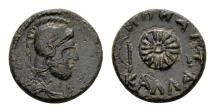 Ancient Coins - Moesia, Kallatis. AE 15mm (2.92 gram) c. 3rd-2nd century BC