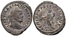 Ancient Coins - Maximian AD 286-310, AE Follis (27mm, 9.90 gram) Lugdunum c. AD 295