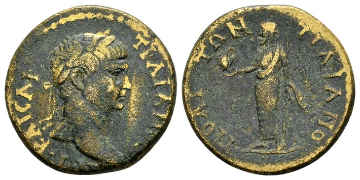 Ancient Coins - Phrygia, Traianopolis. Trajan AD 98-117 (23mm, 8.47 g) / Ex Righetti and RPC cited