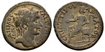 Ancient Coins - Lydia, Saitta. Time of Septimius Severus AD 193-211, AE 23mm (6.06 g), Attikos, magistrate