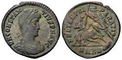 Ancient Coins - Constantius II 337-361 AD, AE Centenionalis (23mm, 5.49 gram) Cyzicus 351-54