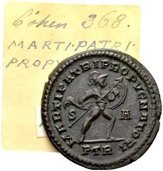 Ancient Coins - Constantine the Great AD 307-337, AE Follis Trier 307-308 / Ex Lückger