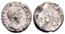 Ancient Coins - Cappadocia, Caesarea. Marcus Aurelius AD 161-180, AR Didrachm (20mm, 5.66 gram) AD 161-165