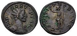 Ancient Coins - Probus AD 276-282, AE Antoninianus (23mm, 4.41 gram) Lugdunum