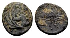Ancient Coins - Macedonian Kingdom. Kassander 316-298 BC, AE (15x17mm, 3.54 g) c. 306-297 BC