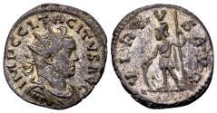 Ancient Coins - Tacitus 275-276, AE silvered Antoninianus (21mm, 4,37 gram) Lugdunum