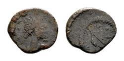 Ancient Coins - Leo I AD 457-474, AE Nummus (10mm, 1.09 gram)