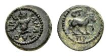 Ancient Coins - Cilicia, Anazarbus. Time of M. Aurelius and L. Verus, dated year 180, AD 161/2