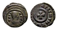 Ancient Coins - Kingdom of Axum. Anonymous. Early Christian period c. AD 340-540. AE 14mm (1.55 gram)