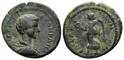 Ancient Coins - Cilicia, Epiphanea. Geta Caesar AD 198-209, AE 22mm (6.40 gram) dated year 276, AD 208-09