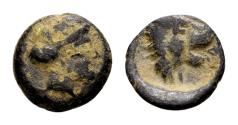Ancient Coins - Thessaly, Pherae. AE (10mm, 1.09 gram) c. 4th century BC