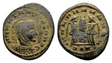 Ancient Coins - Constantine the Great AD 307-337, AE imitative Follis (18mm, 3.14 gram)