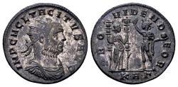 Ancient Coins - Tacitus AD 275-276, AE silvered Antoninianus (22mm, 3.54 gram) Serdica
