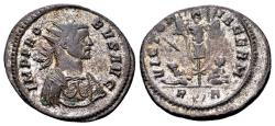 Ancient Coins - Probus AD 276-282, AE silvered Antoninianus (24mm, 4.46 gram) Rome
