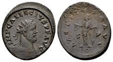 Ancient Coins - Allectus AD 293-296, AE Antoninianus (21mm, 4.67 gram) Camulodunum