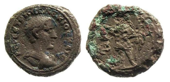 Ancient Coins - Egypt, Alexandria. Herennius Etruscus Caesar AD 250, AE tetradrachm (13.09g; 25mm)