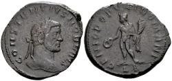 Ancient Coins - Exceptionally heavy - Constantius Caesar AD 293-305, AE Follis (27mm, 12.79 gram) Lugdunum c. AD 295
