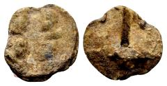 Ancient Coins - First Tetrarchy AD 293-305. Roman imperial seal (17x17x5 mm, 4.69 gram)